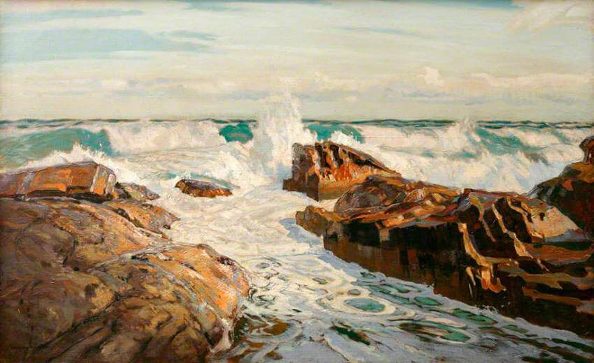 arts by english painter robert borlase smart cornwall england