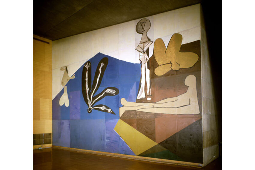 pablo picasso art in unesco house collection