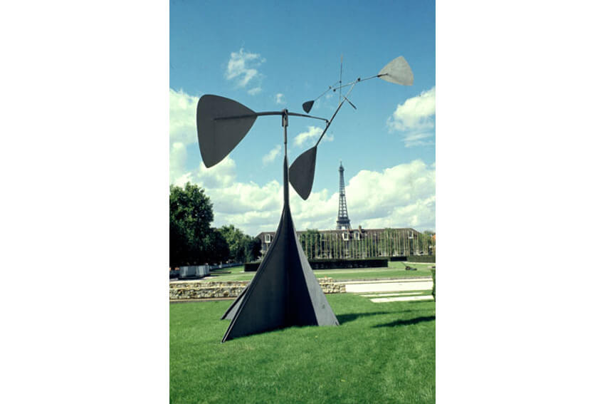 spirale by alexander calder at unesco house art collection
