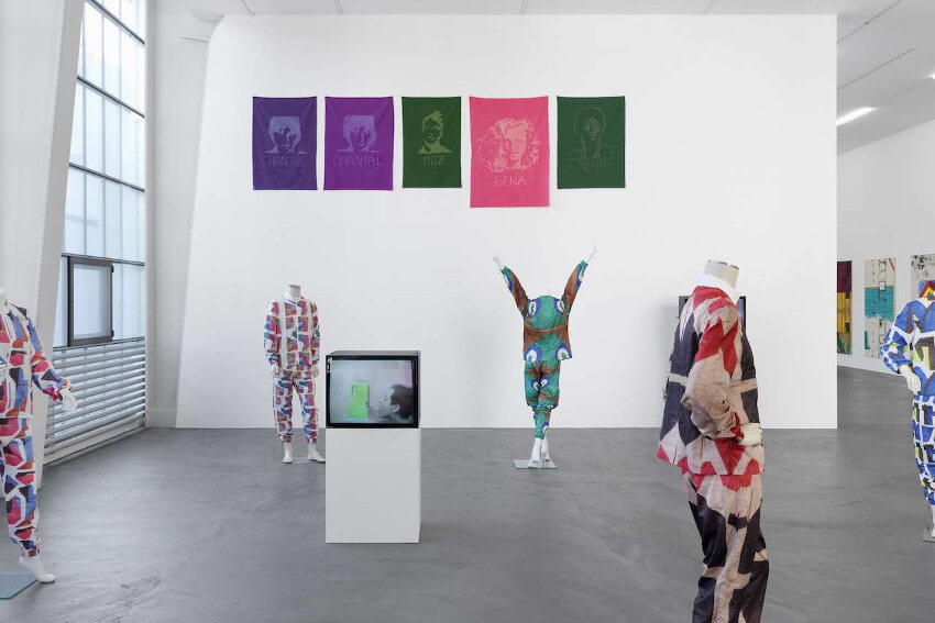 cheryl donegan solo exhibition my plastic bag at kunsthalle zurich