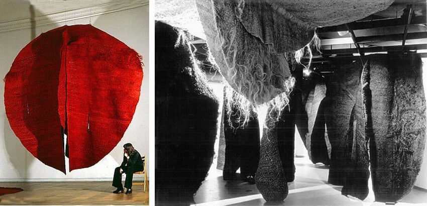 Magdalena Abakanowicz works and exhibitions
