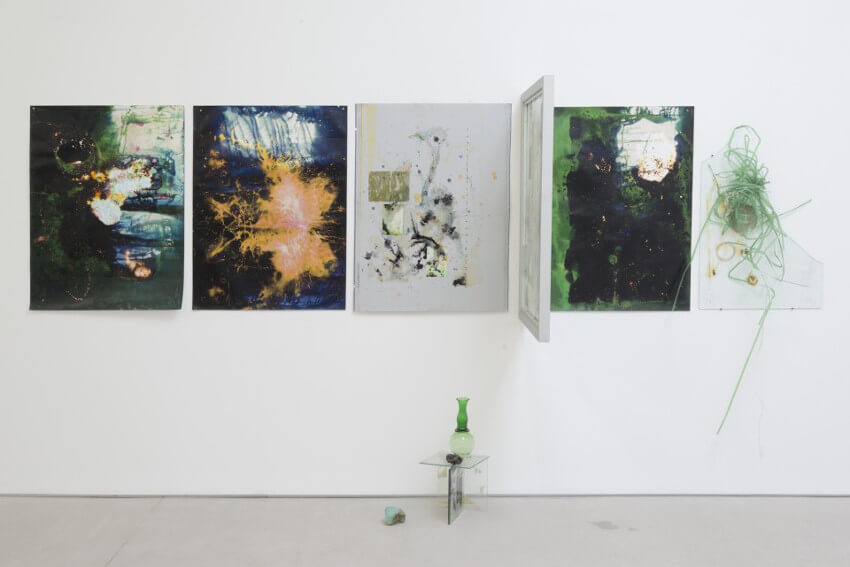 Ryan Foerster Installation view