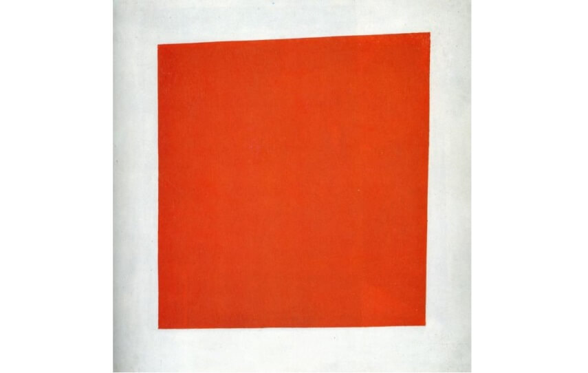 red square art painting made by kazimir malevich in 1915