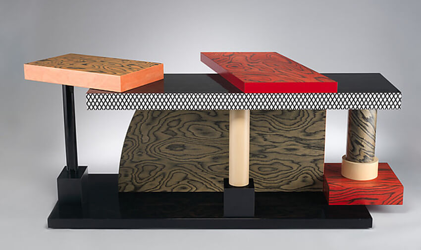 Ettore Sottsass collection designed in new york studio 1969