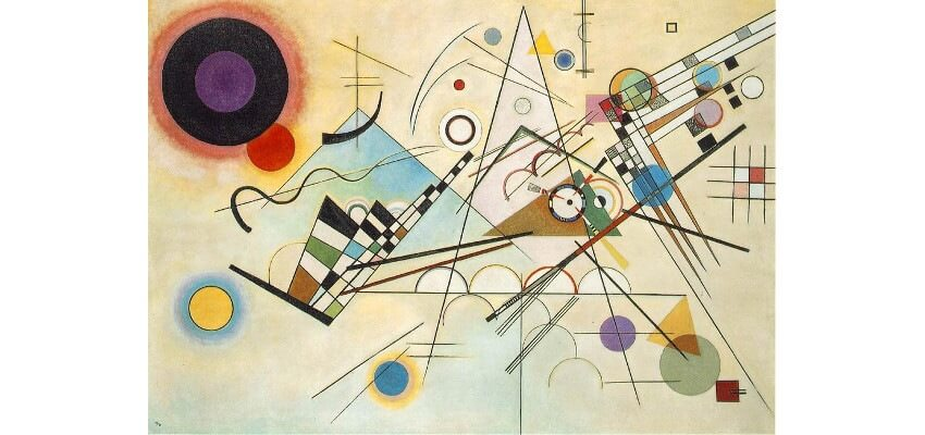 Wassily Kandinsky calligraphy