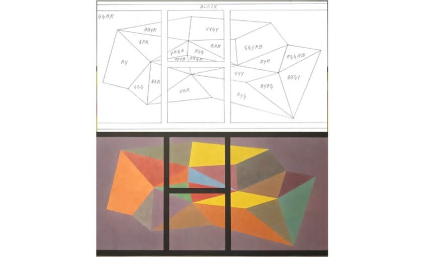 exhibitions of sol lewitt original drawing work