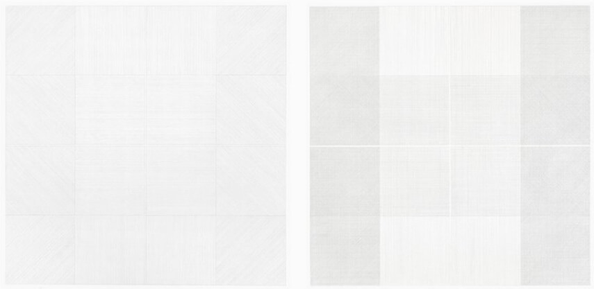 museum exhibitions of drawing work collection by sol lewitt