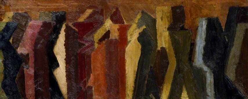 David Bomberg tate collection 1957 london britain david modern  gallery british