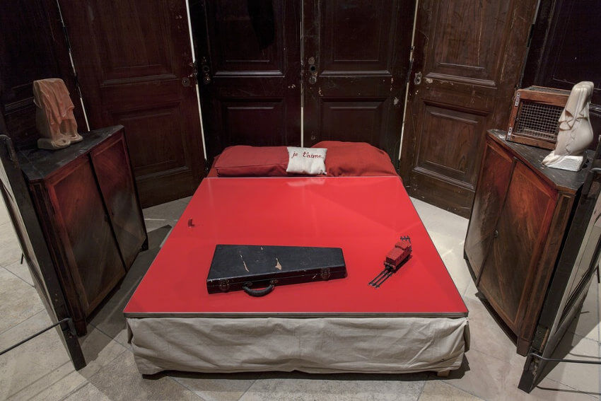 Red Room design by Louise Bourgeois