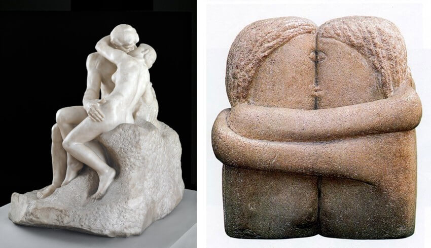 romanian sculptor constantin brancusi at museum of modern art in new york