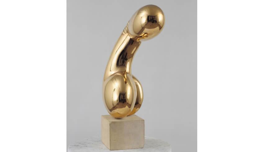 sculptor constantin brancusi born in hobita romania and worked from his studio in paris france
