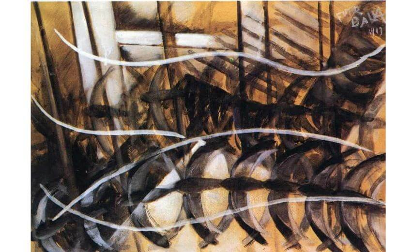 giacomo balla art and world of modern technology