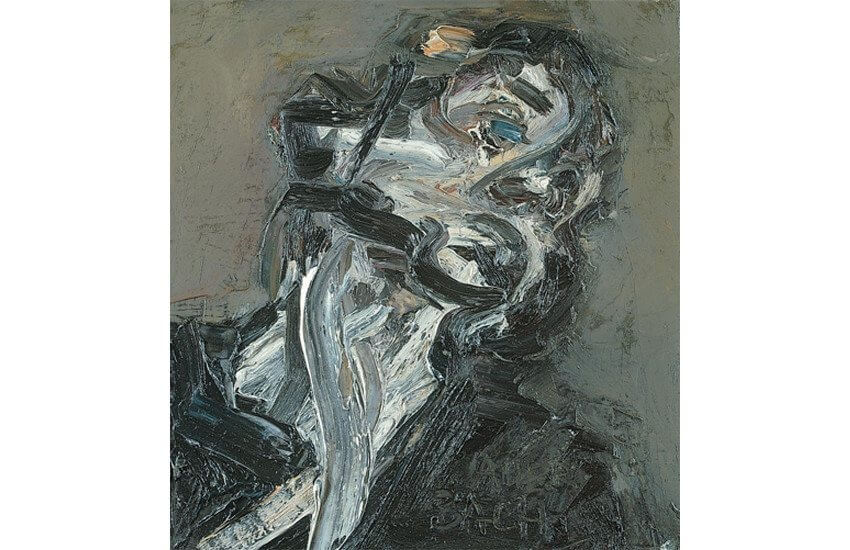 original modern and contemporary abstract portrait painting
