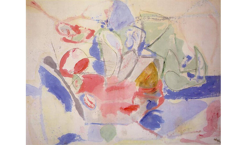 work by american painter helen frankenthaler new york