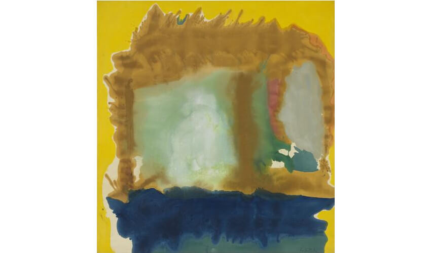 work by helen frankenthaler new york gallery