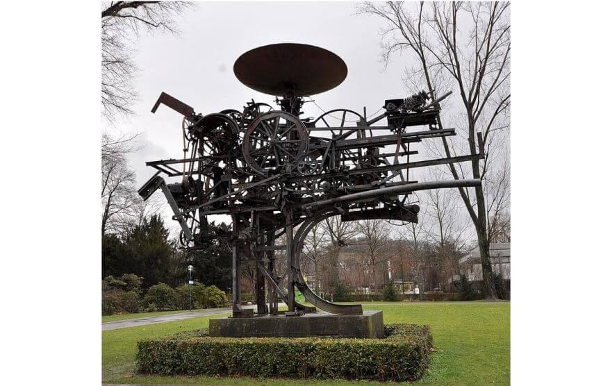 jean tinguely art on view at museum of modern and contemporary art in basel