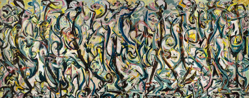 jackson pollock mural gallery and street view