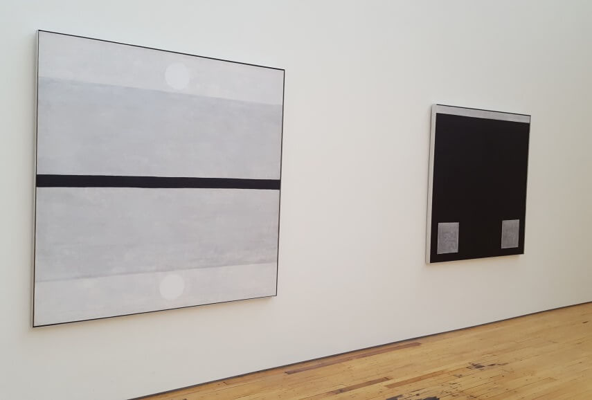 Agnes Martin art at The Dia Foundation
