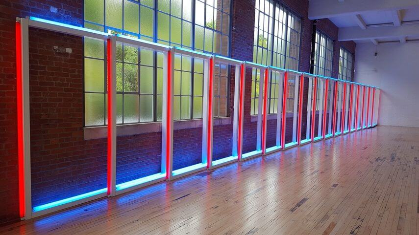Dan Flavin at The Dia Art Foundation