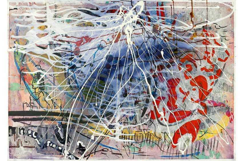exhibitions of works by artist sigmar polke who was born in 1941