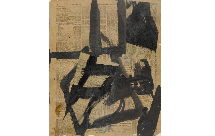 biography and art by franz kline