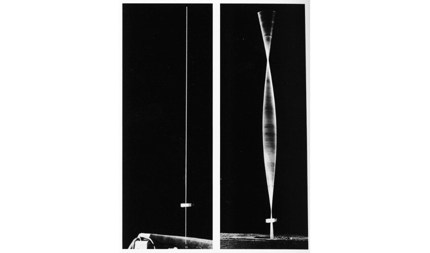 kinetic machine by naum gabo