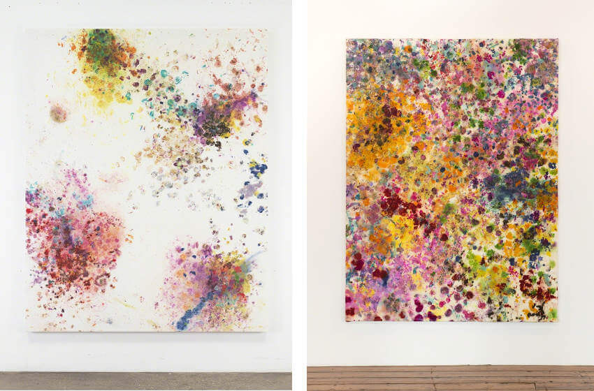 dan colen new artworks