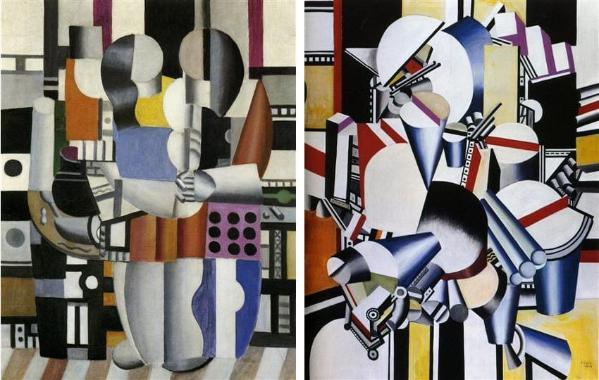 works of art by french painter fernand leger