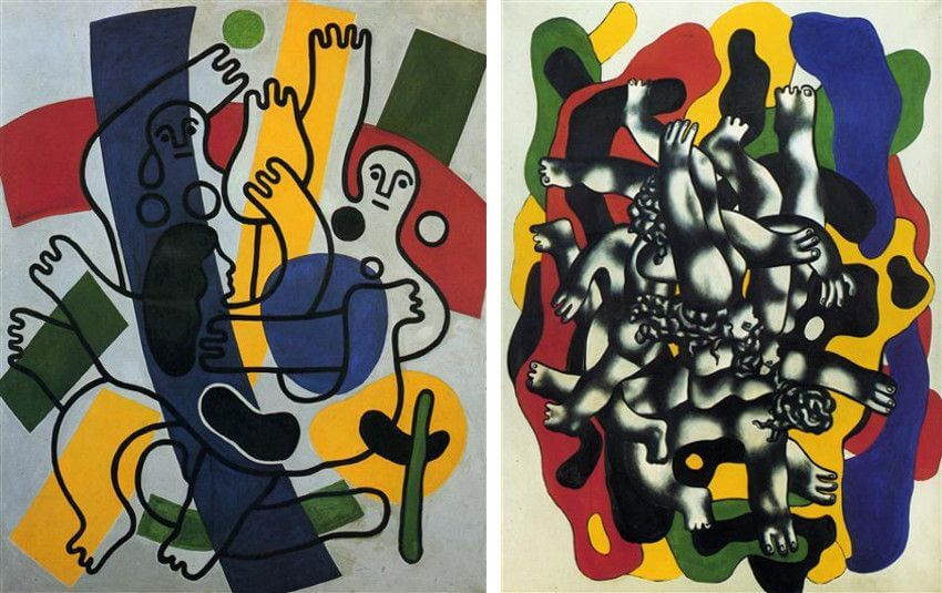 paintings by french artist fernand leger