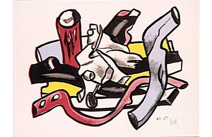 works by french painter and artist fernand leger