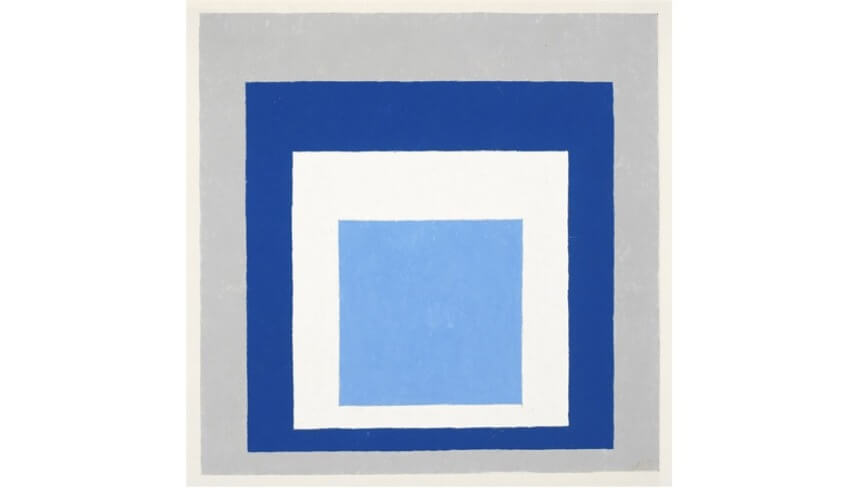 work and design by josef albers artist and teacher at black mountain college north carolina united states