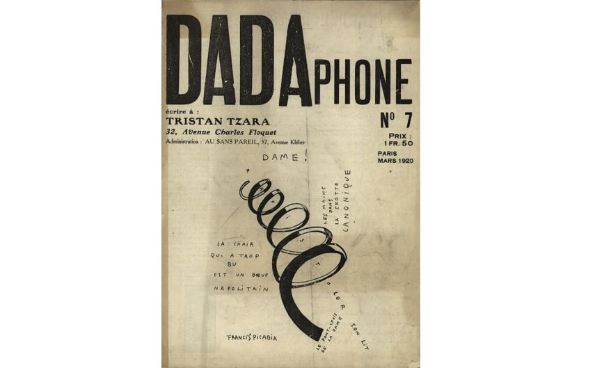Francis Picabia and modern typography art