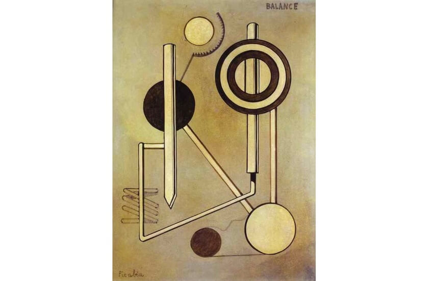 Francis Picabia Balance painting 1919
