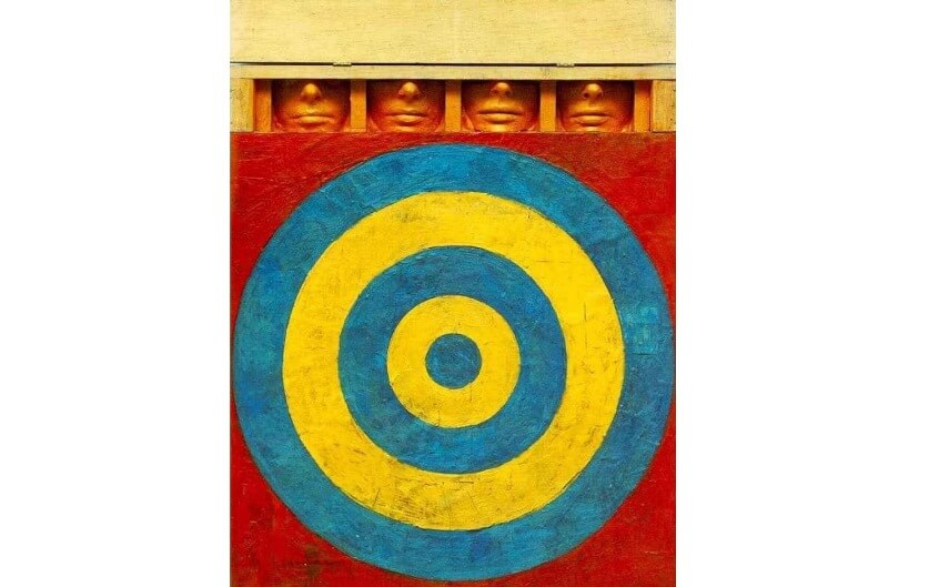 biography life and new work by pop art artist jasper johns