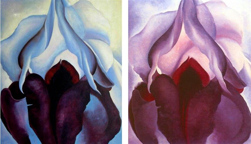 work by american artist georgia o keeffe