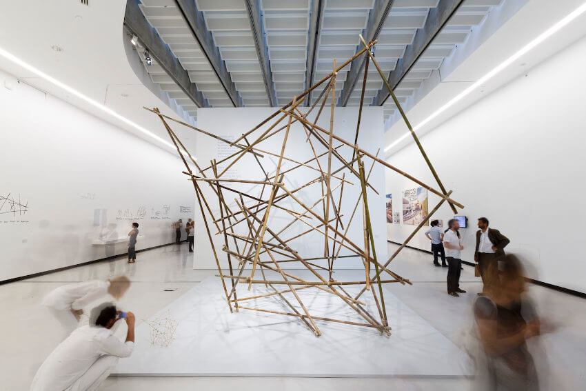 yona friedman project ville spatial exhibitions at museum od art in the city of rome