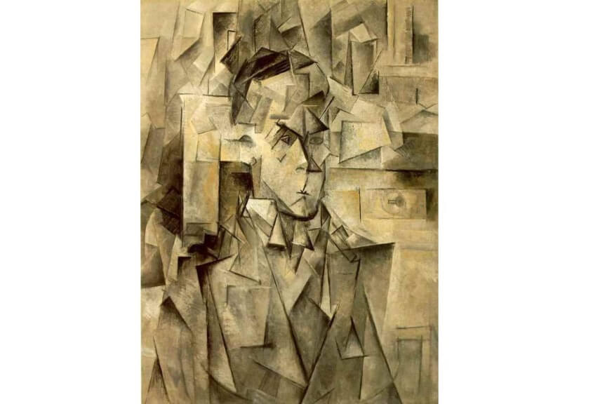 pablo picasso Portrait of Wilhelm Uhde painting