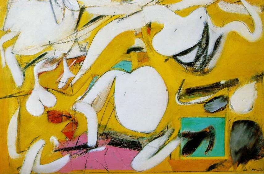 willem de kooning was a dutch painter born in rotterdam in 1904