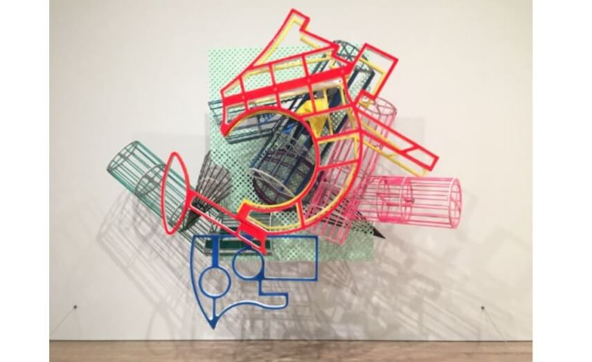 new series of work by american artist frank stella at museum and gallery of modern art in new york