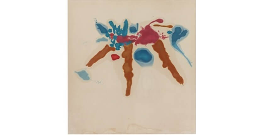 art painting by helen frankenthaler