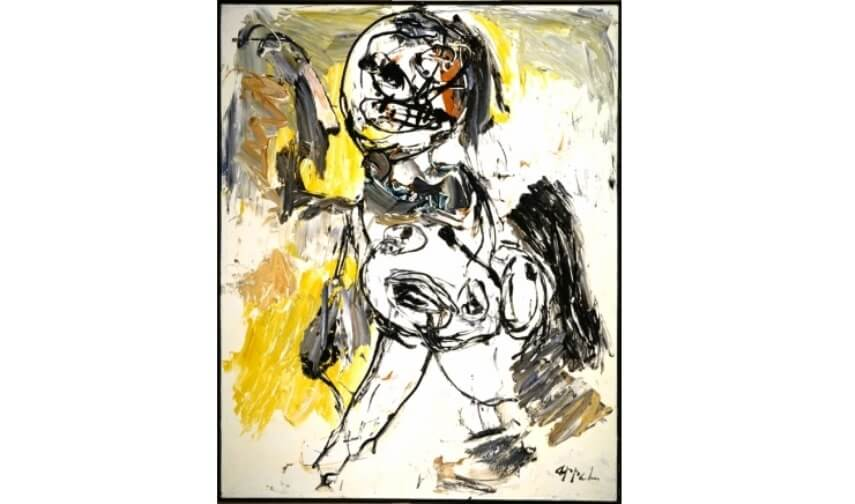 Dutchh artist Karel Appel and Cobra movement