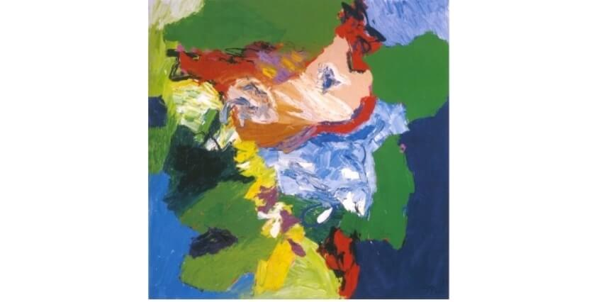 Works by Dutch artist Karel Appel