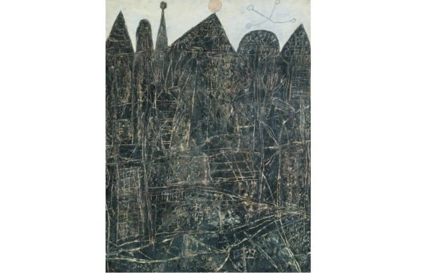 French artist Jean Dubuffet was born in 1901 and died in 1985 in Paris
