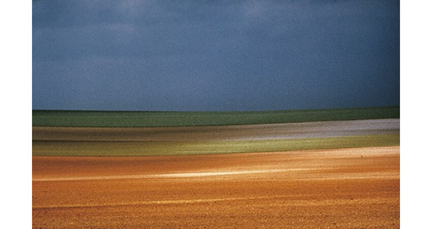 Natural landscape photograph by Franco Fontana