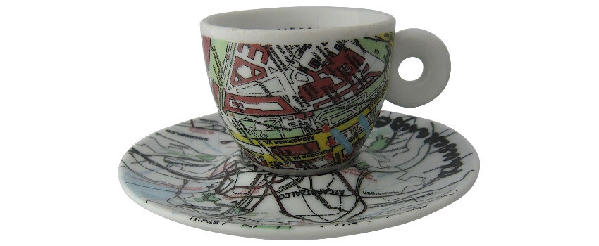 Illy Coffee Cups Art Collection - Robert Rauschenberg