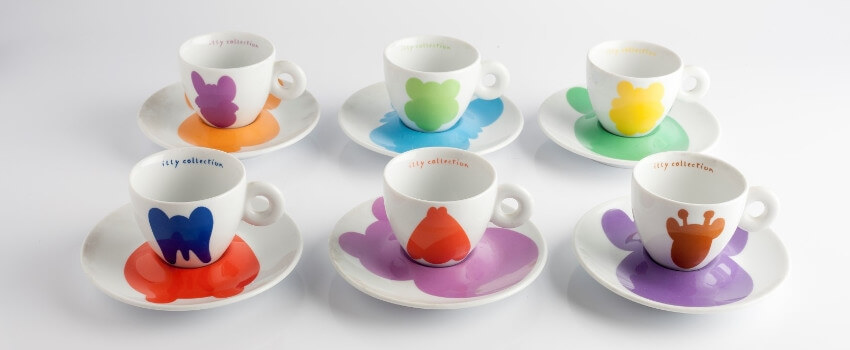 Illy Coffee Cups Art Collection - Jeff Koons