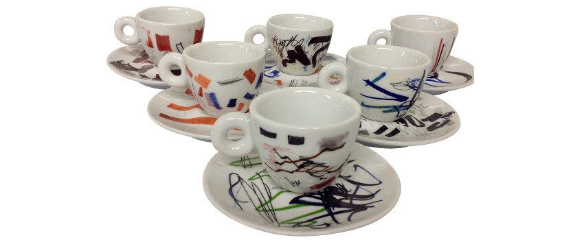 Illy Coffee Cups Art Collection set