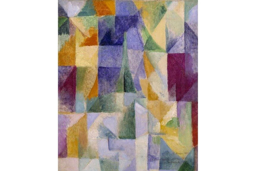 art by french artist robert dalaunay