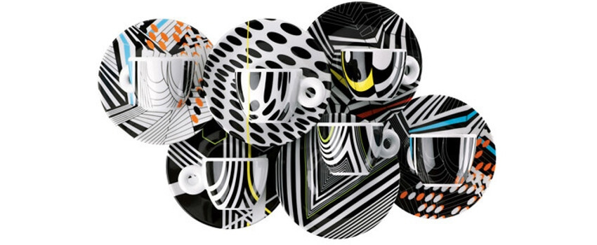 Illy Coffee Cups Art Collection Tobias Rehberger