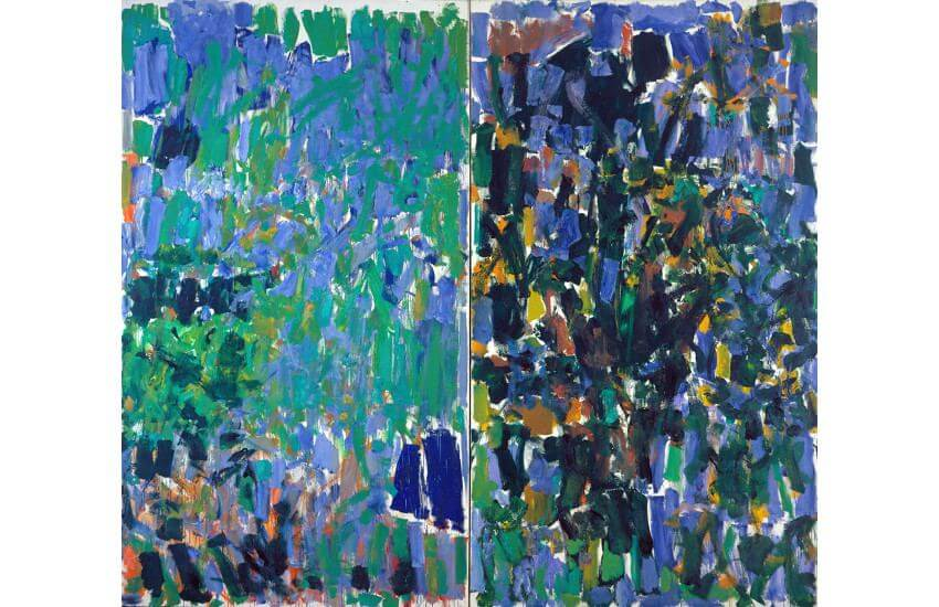 Joan Mitchell art